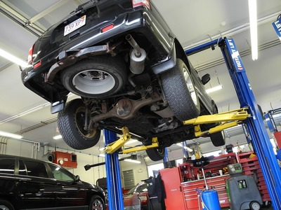 When it's time for a vehicle inspection, visit Carbone Automotive Group's service center.