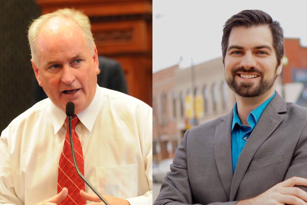 Incumbent Republican state Sen. Don Brady held off challenger Benjamin Webb.