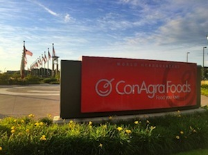 ConAgra will move its headquarters from Omaha, Nebraska, to Chicago next summer.
