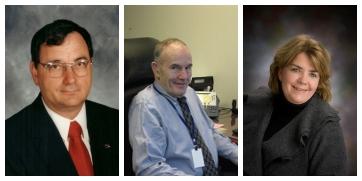 From left are Somerset County Commissioners John Vatavuk, chairman; Joe Betta, vice chairman; and Pamela Tokar-Ickes, secretary