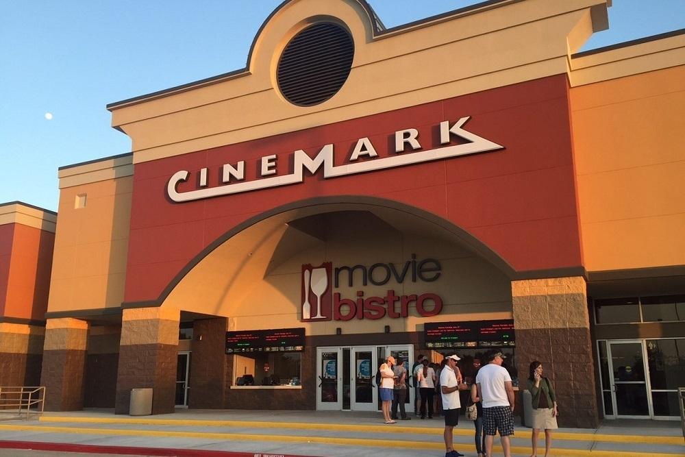 "Entertainment will include a Cinemark Nextgen ""all recliner,"" 10- screen theater."