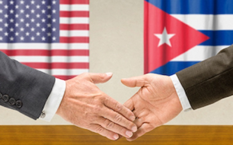 Cuba has been reopened for U.S. food and agricultural products.