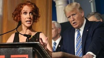 Kathy Griffin & President Trump