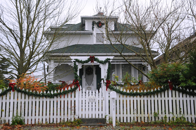 White picket fences made from wood are charming and time-tested bit of Americana.