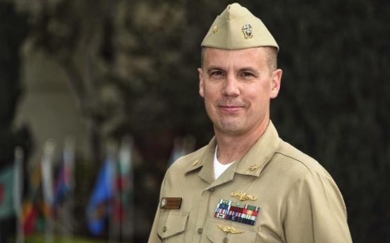 Navy Lt. Cmdr. Korban Blackburn
