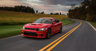 The 2016 Dodge Charger SRT Hellcat