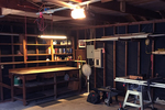 Garages often turn into workspaces, with plenty of electrical usage.