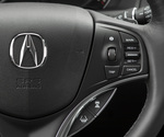 AcuraWatch Adaptive Cruise Control with Low-Speed Follow, top, and Follow Distance Setting and Lane Keeping Assist System, bottom, in the 2017 MDX.