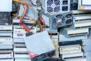 The village of Sidney trustees received an update on the countywide electronics collection.