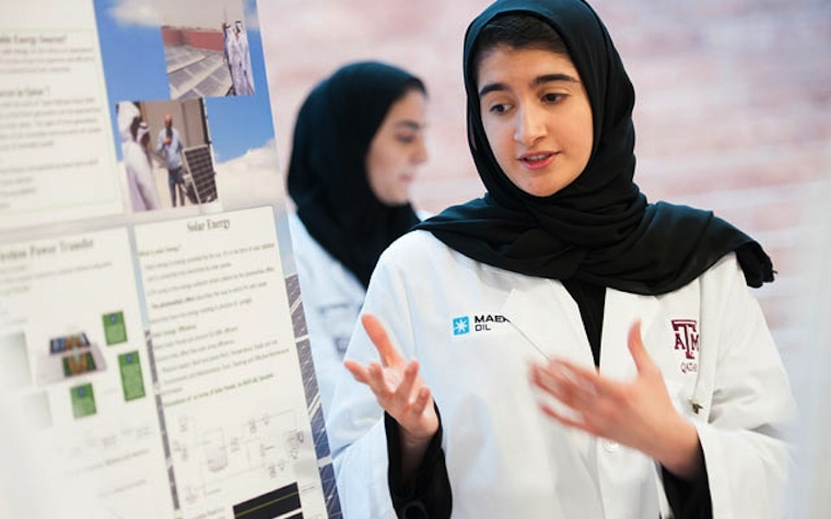 The Summer Engineering Academy at Texas A&M University at Qatar gives high school students practical experience.