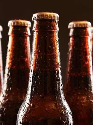 Large beerbottles