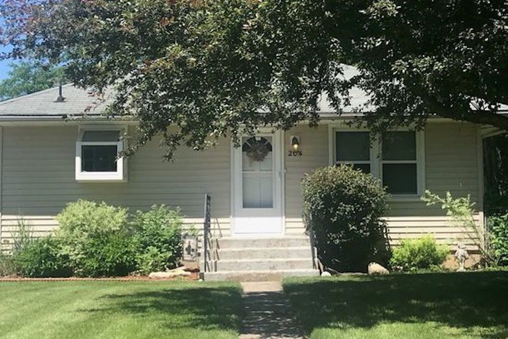 The home for sale at 204 Liberty Ave. in Fox River Grove had a property tax bill of $3,586 in 2017.