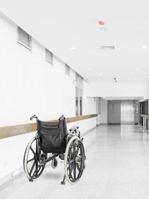 Wheelchair hallway