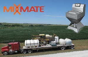 The Mixmate blending system is Praxidyn's first product.