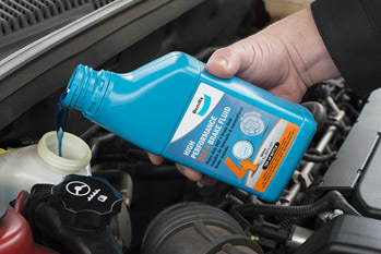 A glycol-based brake fluid is ideal for vehicles with an anti-lock brake system.