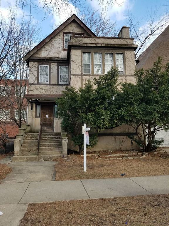 The house located at 6709 N. Bosworth Ave. currently offered for $199,000, had a 2016 property tax bill of $8,759.