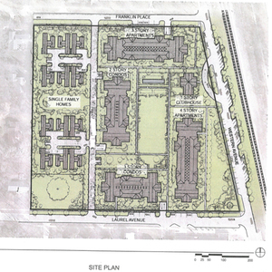 Laurel Ave. site plan
