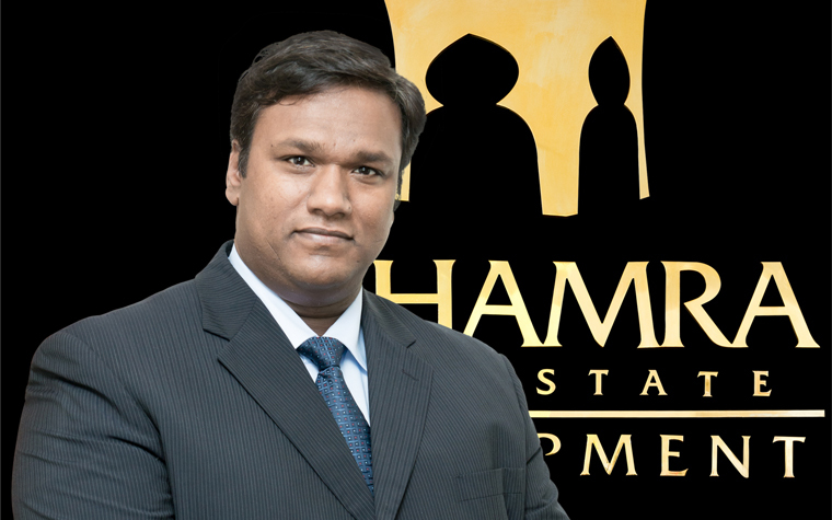 Benoy Kurien, general manager of Al Hamra Real Estate Development