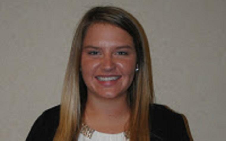 Nebraska senior Lauren Stohlmann will work at the NCGA's headquarters in suburban St. Louis.