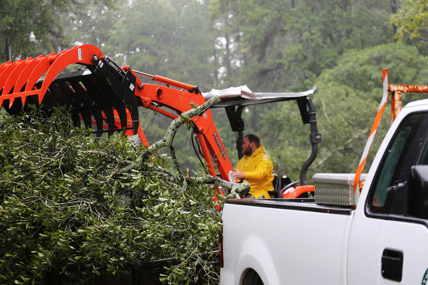 Clean-up is underway in Houston while Dallas Fed economists look at the overall financial impact of the storm.