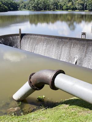 Large watersupply