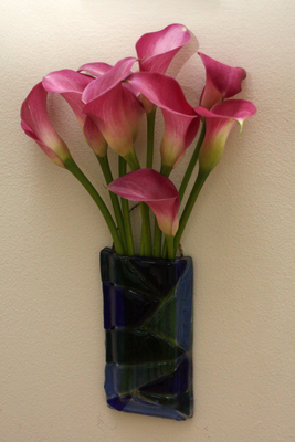 Wall vases can help create living walls inside the home.