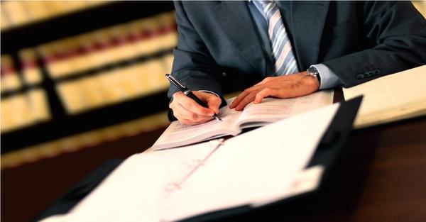 Large lawyer