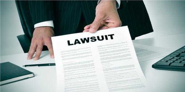Large lawsuit