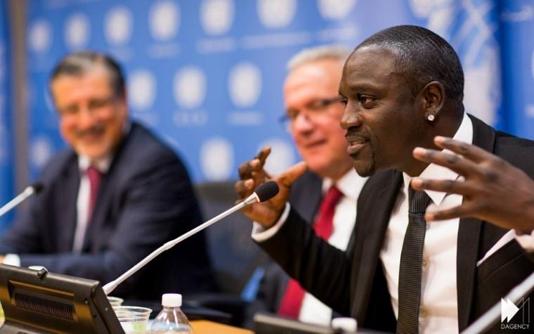 Akon Lighting Africa founder, Akon.