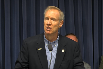 Gov. Bruce Rauner marks May 23 as Give Them Distance Day.