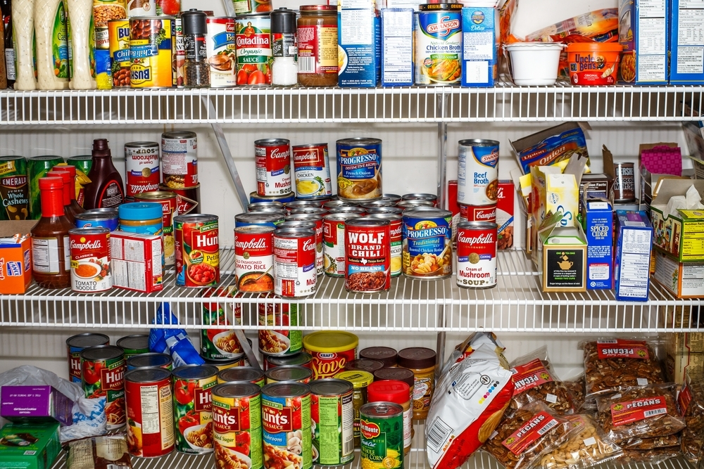 In late December, the city gave over 1,200 pounds to the local pantry thanks to the efforts of 205 staffers.