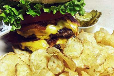 Medium kayscafeburger