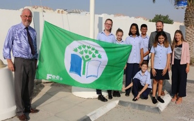 Doha College becomes first school in Qatar to hoist FEE's Eco-Schools Green Flag