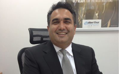 Muzaffar Khokhar, business director of financial services institutions for Russia Middle East and Africa at OT