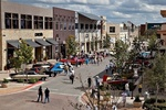 The Hill Country Galleria provides the backdrop for the annual Hill Country Rolling Sculpture Car Show.