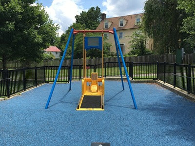 Installation of the adaptive playground equipment is scheduled to take place in late-winter.