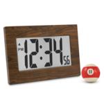 Large frame digital clock