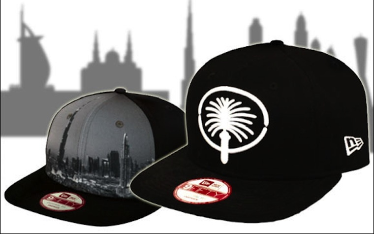 New Era's limited edition Dubai caps