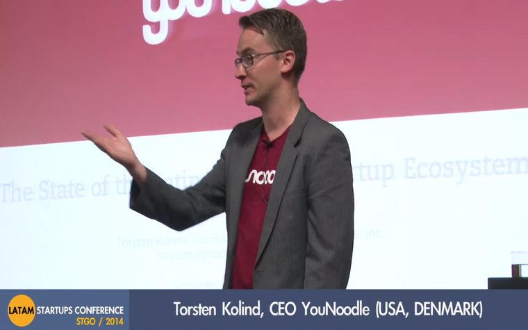 YouNoodle CEO Torsten Kolind
