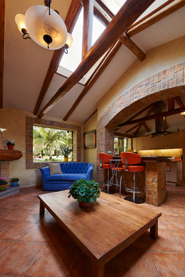 Modern rustic design incorporates both modern elements and natural touches.