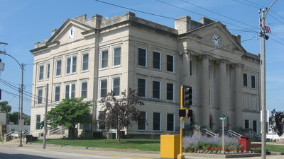 Richland County, Illinois Courthouse