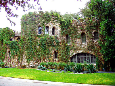 The historic and gorgeous Pemberton Castle, circa 1890, is located in central Austin.
