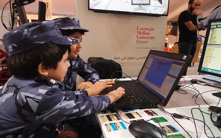 Carnegie Mellon University Qatar hosts Alice Middle East activity in honor of Qatar National Day