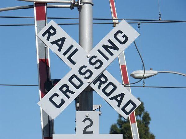 Large railroadcrossing