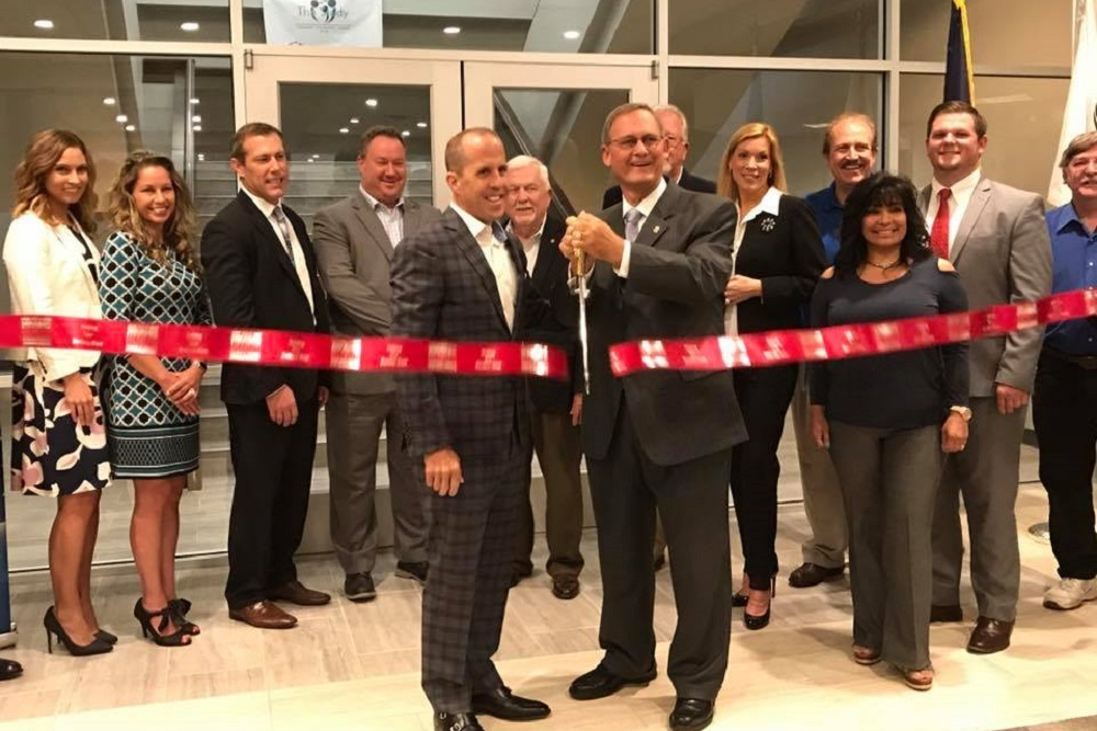 The Irving-Las Colinas Chamber recently held a ribbon-cutting for The Study.