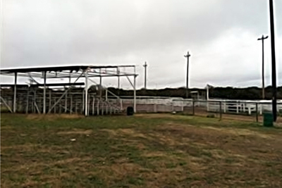 Harper Community Park features many amenities such as a livestock arena. The open car show is being held to raise funds for the park.