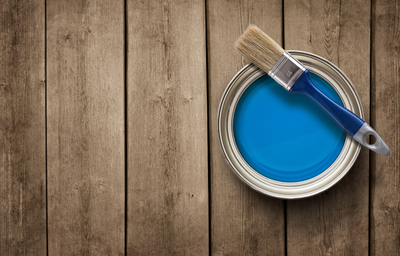 Though many conventional paints contain some amount of VOCs, there are a number of paints that are low-VOC or VOC-free..