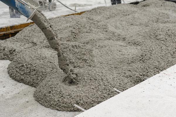 Large concrete