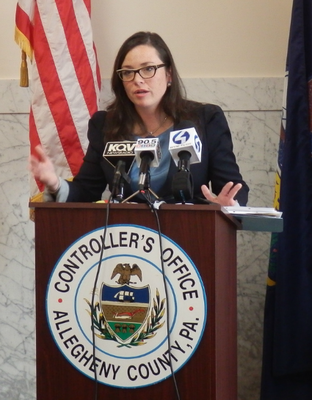 Allegheny County Controller Chelsa Wagner