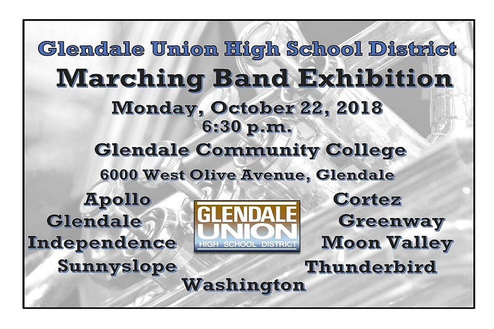 Glendale Union High School District Guhsd Marching Band Exhibition